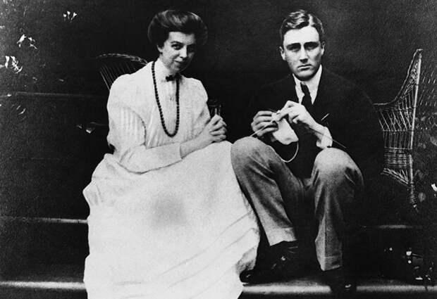 Американский президент Франклин Рузвельт и его супруга Элеонора Рузвельт.   Фото: 3.bp.blogspot.com.