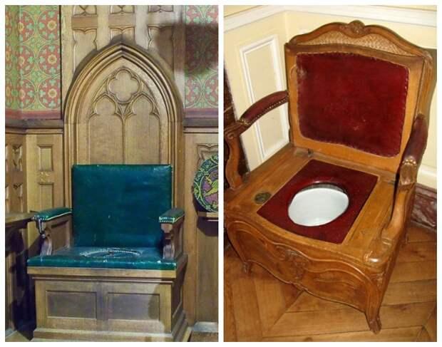 На таком троне с горшком восседали короли.
