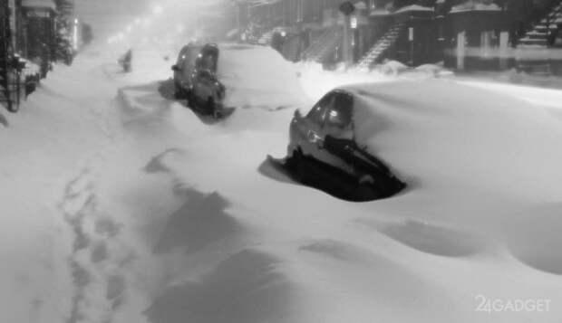 Новое устройство ускорит таяние снега (4 фото)
