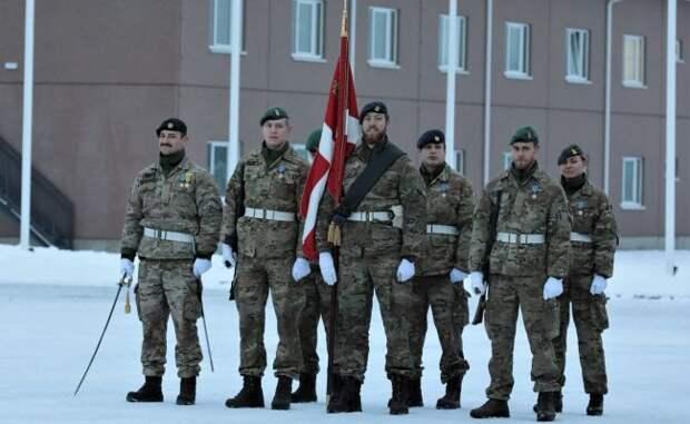Датских солдат вЭстонии заменили англичане