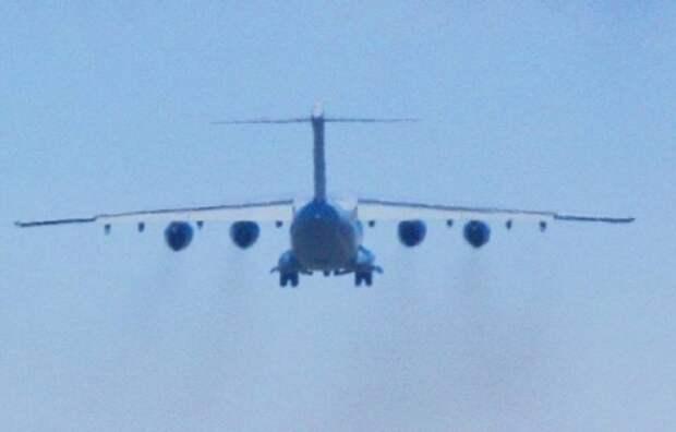 Впервые показан полёт китайского военного транспортника Y-20B с 4-мя двигателями WS-20 производства КНР