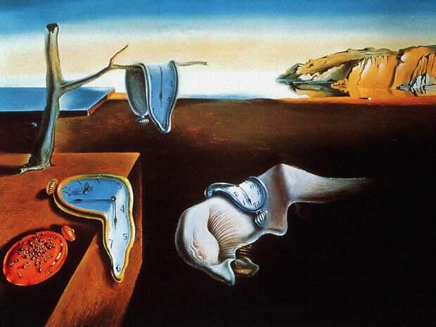 Сальвадор Дали «Постоянство памяти» 1931Хранится в Музее современного искусства в Нью-Йорке.
