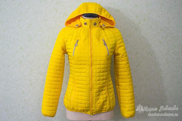 Карманы на куртке