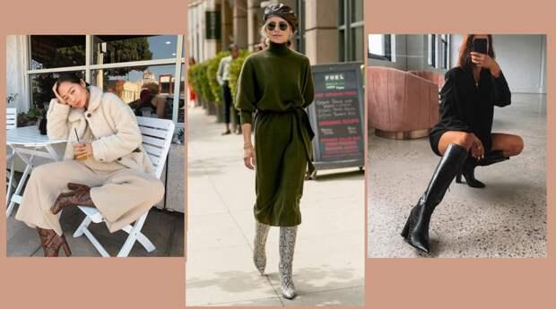 Посмотрите: Сапоги на зиму, которые носят стильные и уверенные в себе женщины