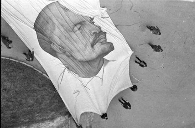 Из серии «Лениниана». Александр Забрин, 1985 год, г. Москва, из архива А. Я. Забрина.
