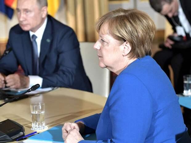 Меркель обсудила с Байденом встречу с Путиным, «Северный поток-2» и Украину