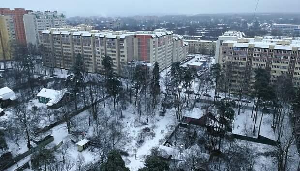 Небольшой снег и до плюс 3 градусов ожидается в Подольске в воскресенье