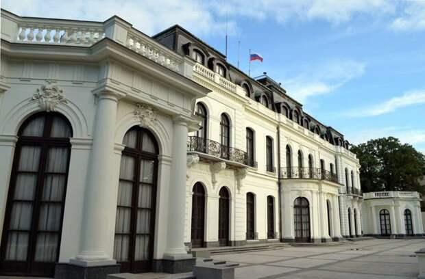 Ответ посольства РФ в Чехии на переименование адреса в площадь Немцова
