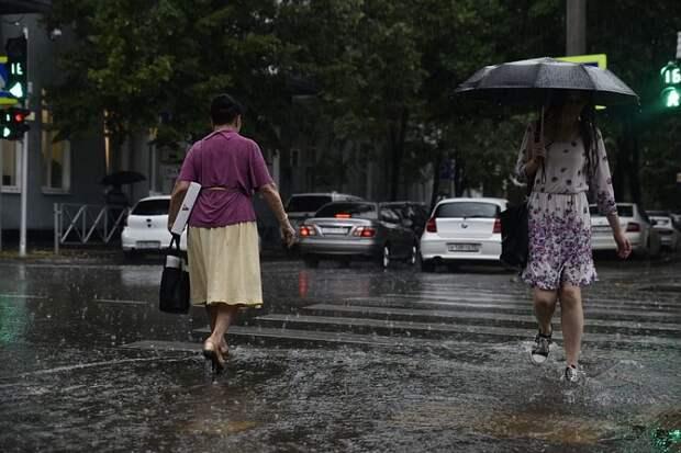 На Кубани местами прогнозируют дожди и грозы