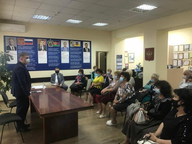 Дмитрий Ламейкин встретился с общественниками города Краснодара.