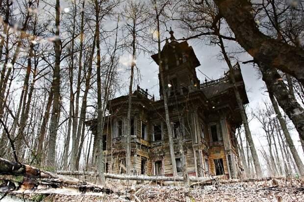 Вот как выглядит заброшенный деревянный особняк XIX века после  реконструкции