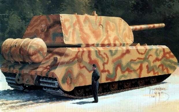 Танк «Маус»: грозное оружие «Панцерваффе-46» или 200-тонный чемодан без ручки