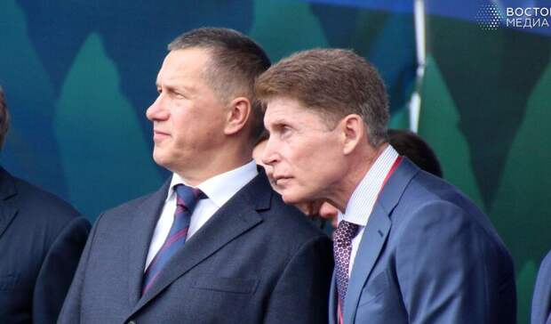 «Сроки вышли»: опубликовано видео разговора Трутнева иКожемяко оботставке Гуменюка