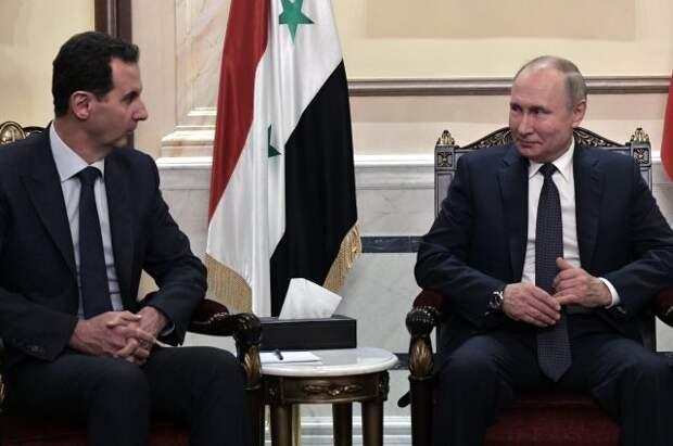 Шойгу заявил, что о подготовке визита Путина в Сирию можно снять триллер