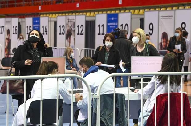 В столице Северной Македонии началась массовая вакцинация «Спутником V»