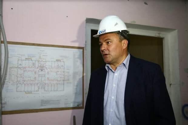 Петр Толстой: Капотня получит новую современную поликлинику. Фото: Александр Чикин