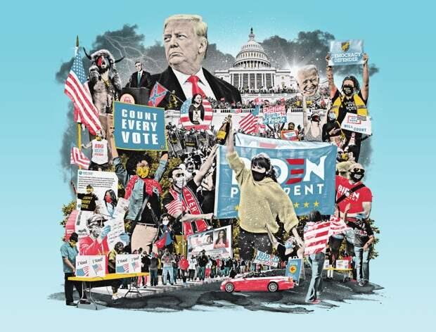 Раскрыты карты, как Байден победил Трампа на выборах