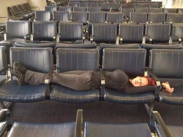 Выспаться в аэропорту — это особое искусство