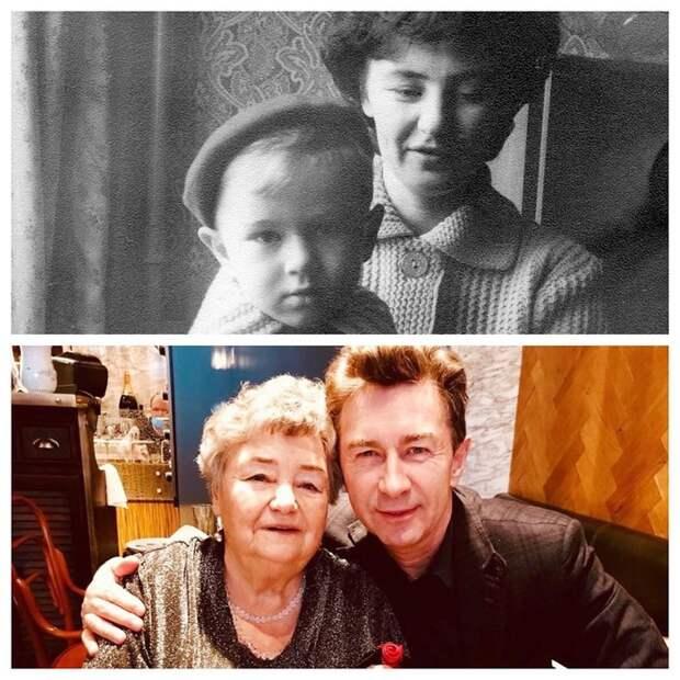 Мамин сын навсегда: фото 15 российских артистов с мамами