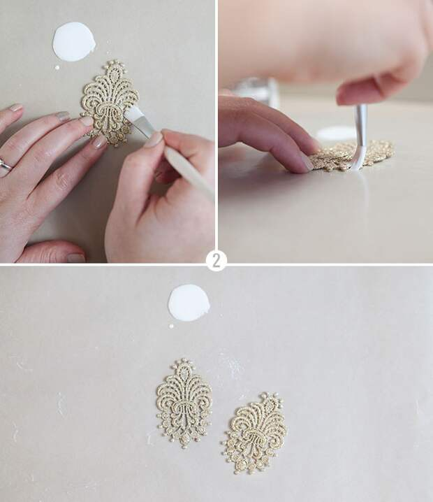 нарядные серёжки своими руками как сделать