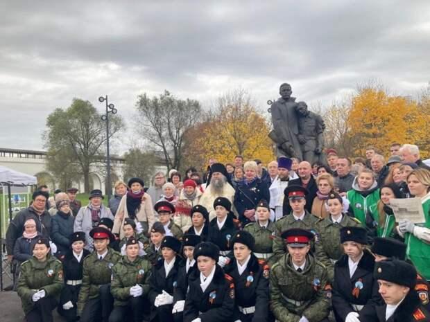 Память народных ополченцев почтили в парке «Акведук»