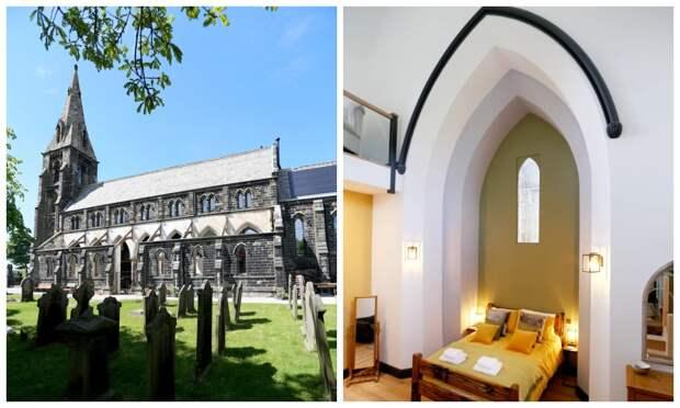 Супруги из Великобритании купили полуразрушенную церковь и превратили ее в роскошный особняк