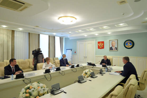 Мурат Кумпилов и Сергей Маркевич обсудили вопросы сотрудничества в сфере управления госимуществом