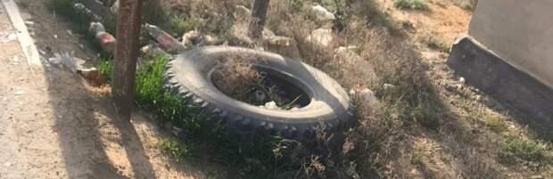 Жители Мунайлинского района утопают в мусоре