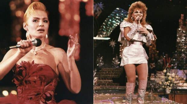 """Немного ностальгии: как выглядели знаменитые звезды эстрады на новогодней """"Песни-88"""""""
