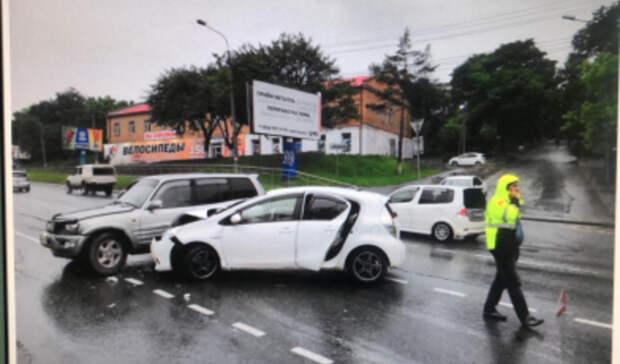 Грудной ребёнок пострадал в ДТП в Приморье