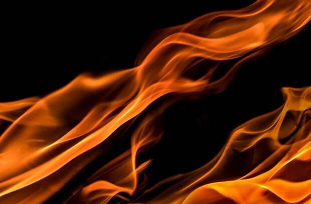 Огонь, Черный, Красный, Желтый, Пожар, Сгорел, Жара