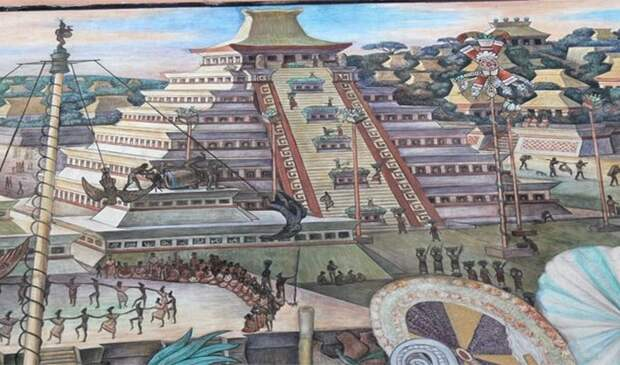 Теночтитлан - древний мегаполис