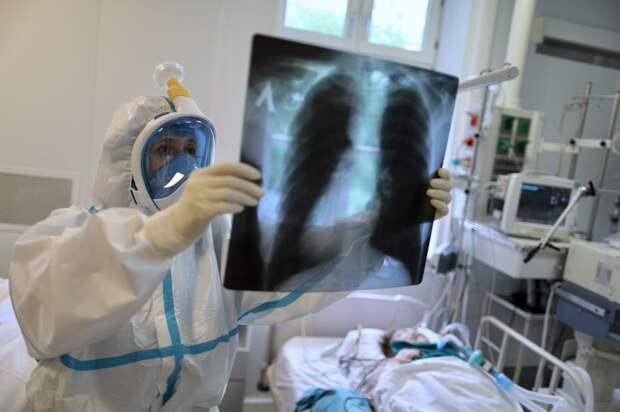 В России за сутки выявлено 10 253 новых случая коронавируса