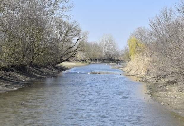 Резкие подъемы уровня воды в реках ожидаются на Кубани