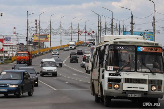 ВКургане водители автобусов находу поменяли маршрут