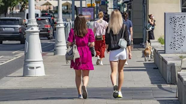 Температура воздуха в Москве побила рекорд 63-летней давности