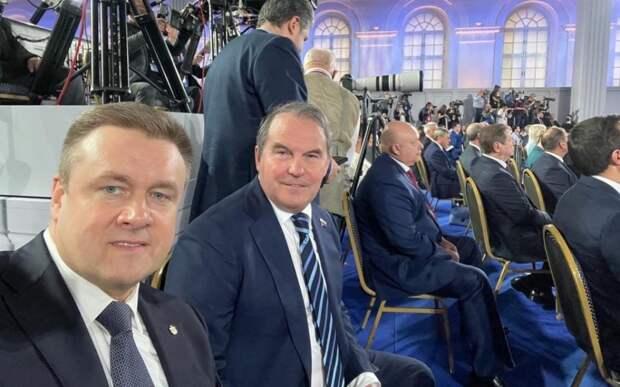 Рязанский губернатор прокомментировал послание Путина к Федеральному собранию