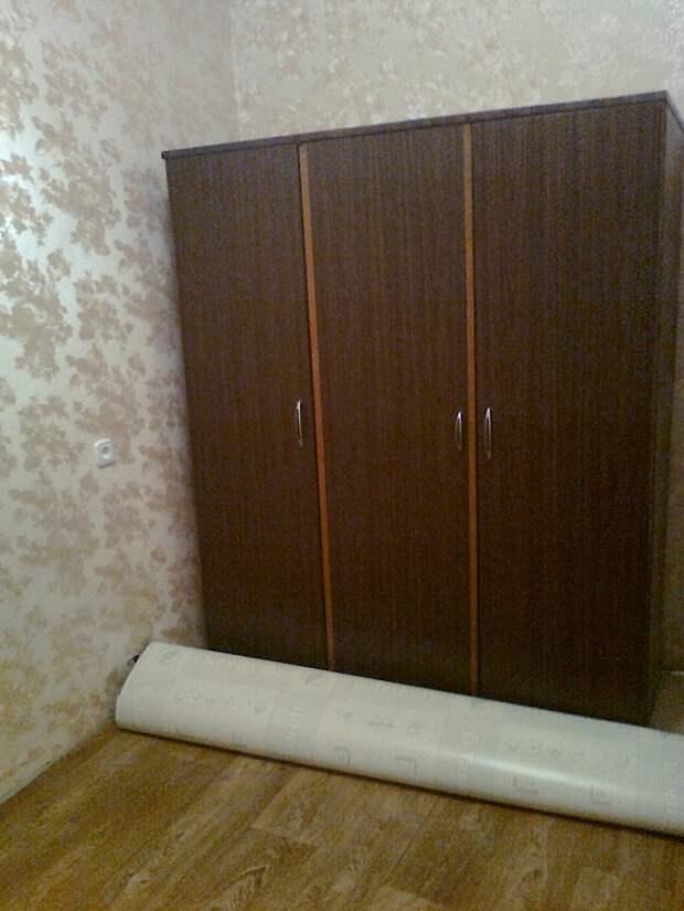 Сделали красивый ремонт но старый шкаф никак не вписывается… Знакомый дизайнер подсказал решение