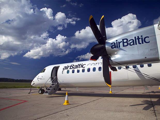 AirBaltic отказалась от полетов над Белоруссией из-за захвата самолета в Минске