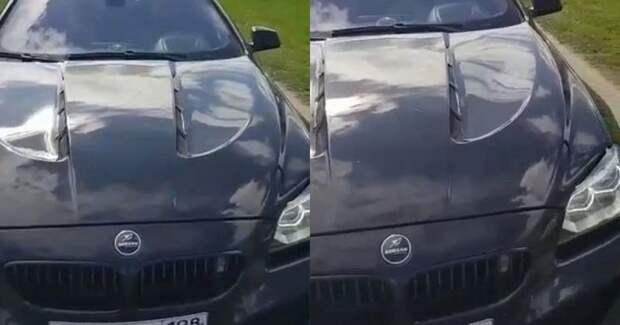 Подросток против автохама: полиция задержала водителя BMW, ехавшего потротуару