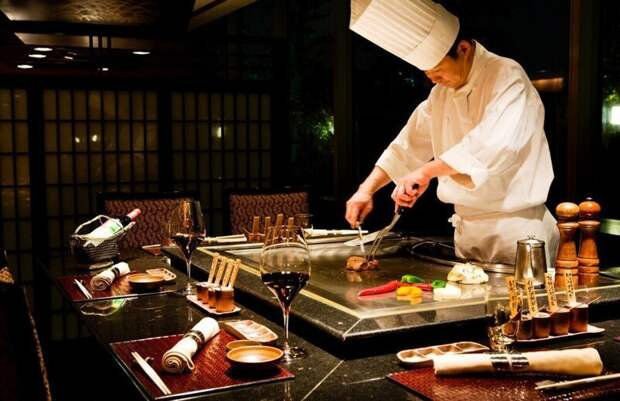 В японских ресторанах не дают чаевых