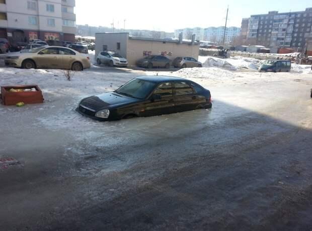 Весной из под снега появляются первые подснежники весна, дороги, россия