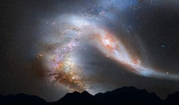Ученые установили точную массу Млечного пути