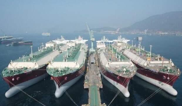 Saudi Aramco СПГ-танкеры