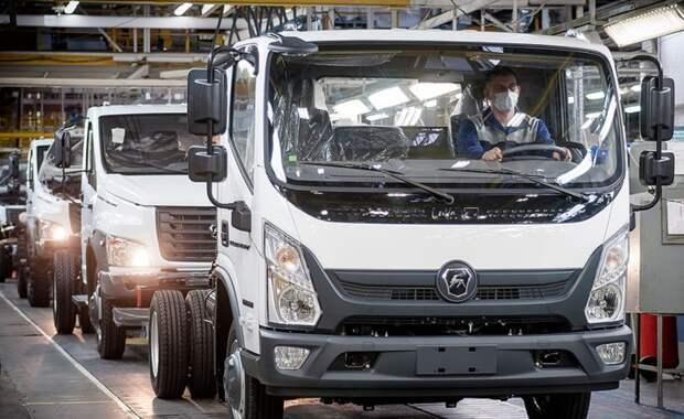 Автозавод ГАЗ начал серийное производство грузовика «Валдай NEXT»
