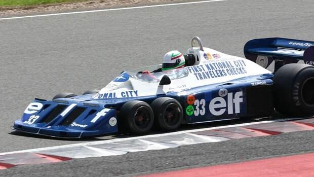 Гоночный болид Tyrrell P34 выставлен на продажу на аукцион Sotheby's