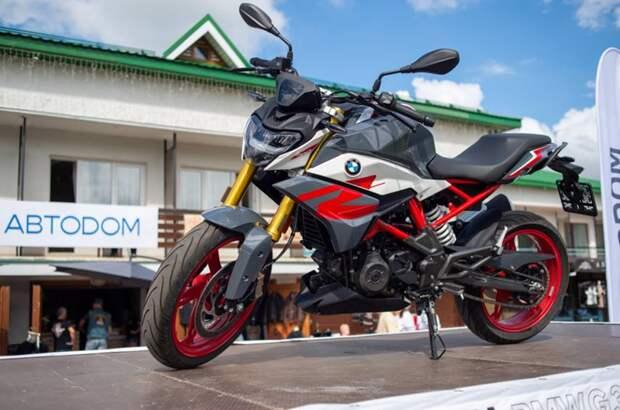 BMW Motorrad ABTODOM разыграл мотоцикл BMW G310R  среди гостей ежегодного Blues Bike Festival Suzdal