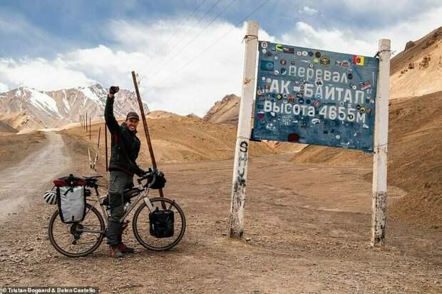 На велосипедах по миру: пара путешественников, которая очень любит крутить педали