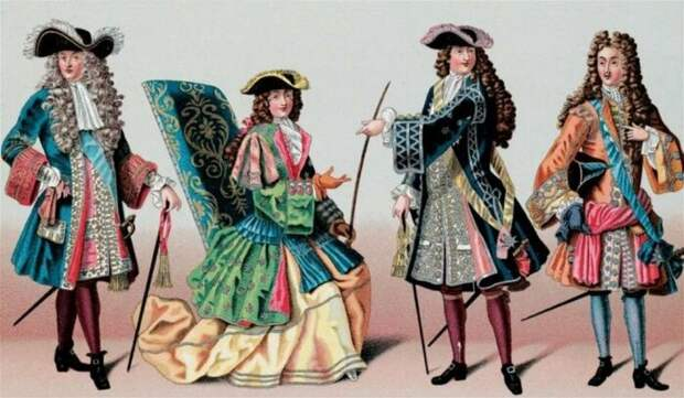 Парики носили и в светском обществе, и в армии. /Фото: pbs.twimg.com