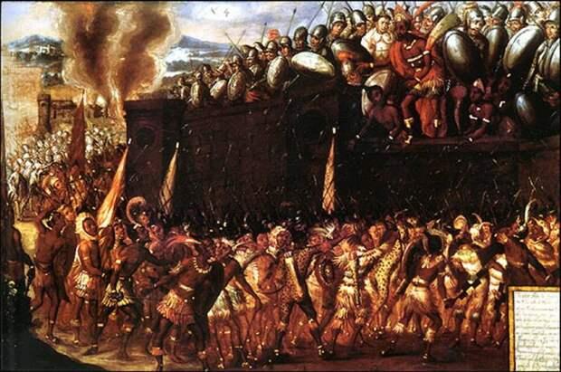 Эрнан Кортес и королевство кровавого ужаса